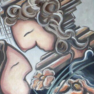Notre chemin , Marie Jacques, artiste peintre