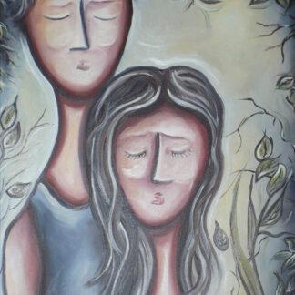 Seuls ensemble, Marie Jacques, artiste peintre