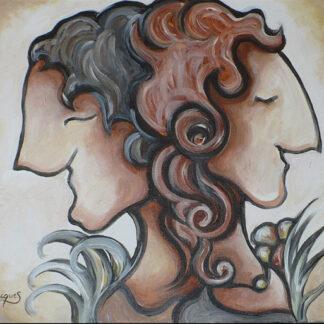 Unis, Marie Jacques, artiste peintre